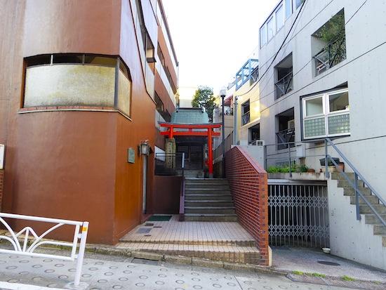 「渋谷区№55遺跡(福徳稲荷大明神)」