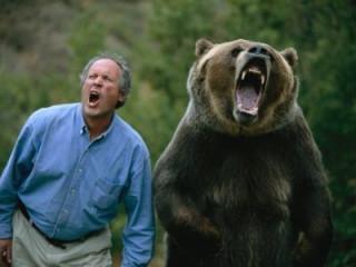 人間『熊が出たぞ!!」 熊「人間が出た!!」
