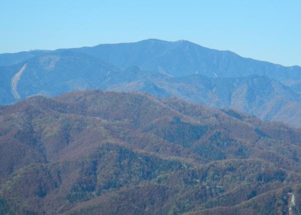 黒川鶏冠山 062金峰山国師ヶ岳