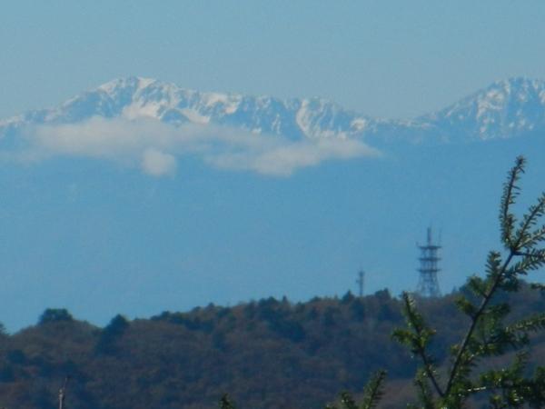 黒川鶏冠山 065赤石岳悪沢岳