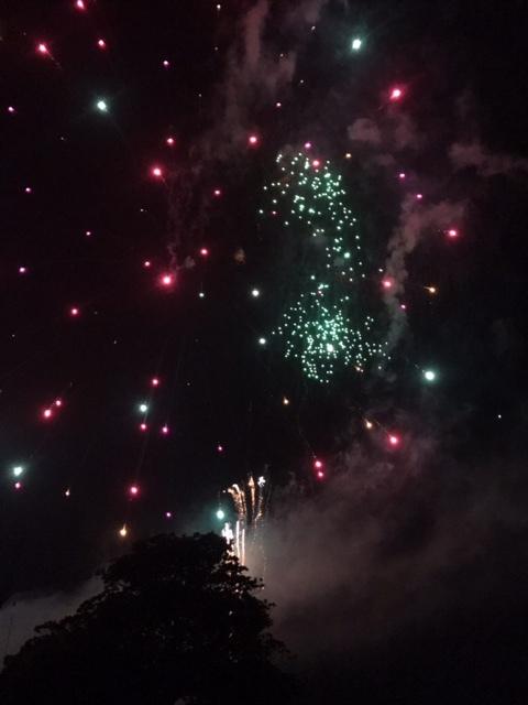 かがし祭り花火