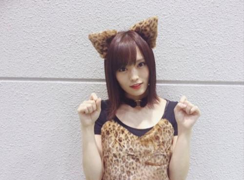 山本彩、女豹コスプレを披露「さや姉可愛いすぎ~」興奮の声続出