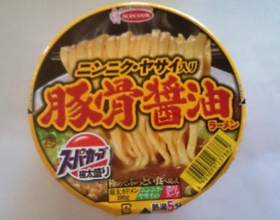 ヤサイ豚骨醤油