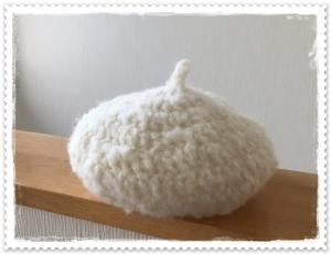 20161023ふわふわベレー帽