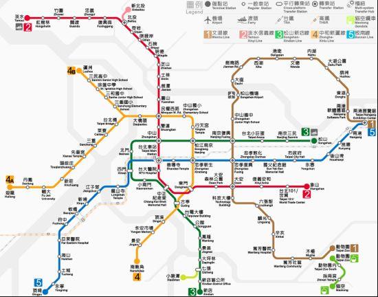 台北捷運 松山新店線のご紹介