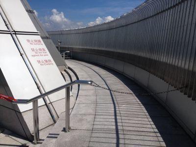 台北101 外の展望台(2)