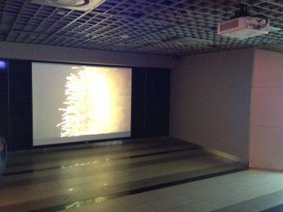 台北101 91階で映像を流していました