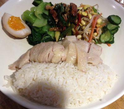大人気の行列店 慶城海南鶏飯 2号セット
