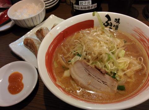 味噌ラーメン 福岡 中央区 天神 ふくべえ