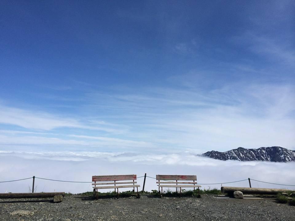 雲海ベンチ