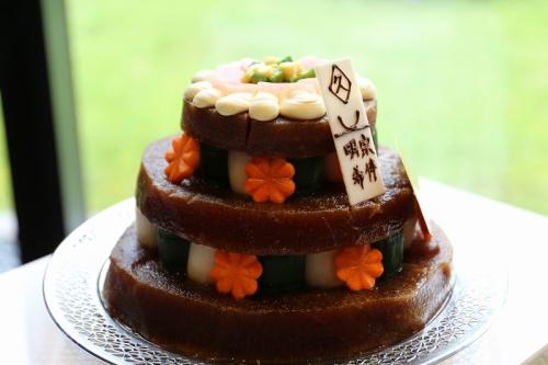 漬物ウェディングケーキ