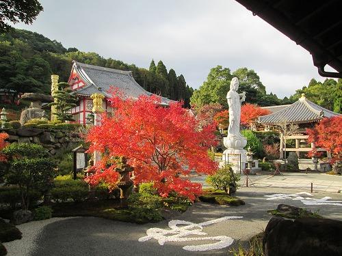 【紅葉スポット】不動山青隆寺