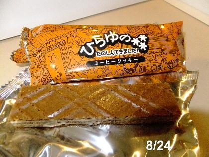 ひらゆの森 8.24 チョコクッキー