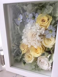 フレームの花