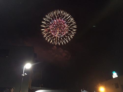 豊田の花火