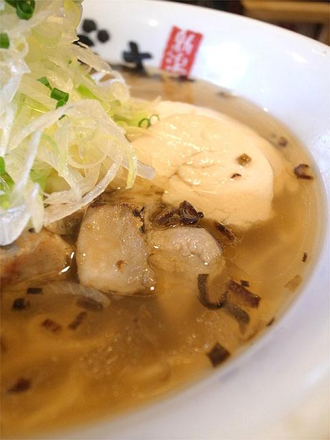 160304麺屋あごすけ-旨塩鶏麺・肉