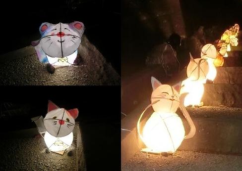 松江城 行灯