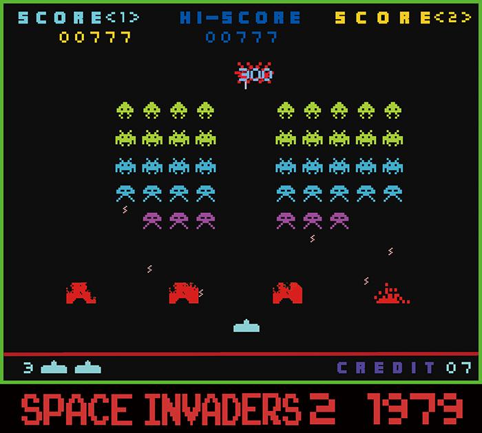 インベーダーゲーム700