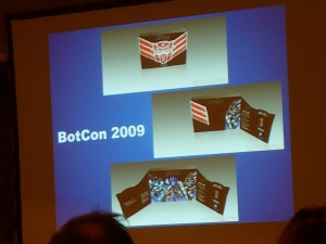 hasbro panel botcon ALL ITEM039