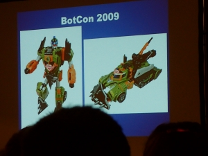 hasbro panel botcon ALL ITEM043