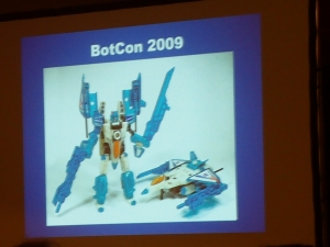 hasbro panel botcon ALL ITEM045