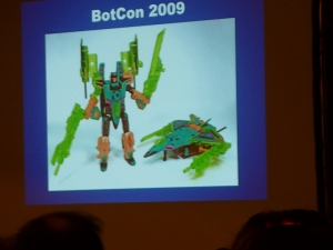 hasbro panel botcon ALL ITEM046