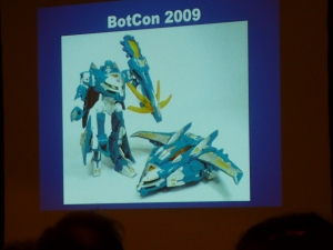 hasbro panel botcon ALL ITEM047