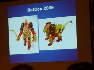 hasbro panel botcon ALL ITEM049