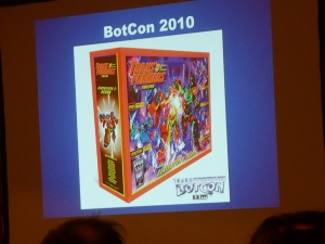 hasbro panel botcon ALL ITEM050