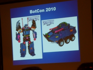 hasbro panel botcon ALL ITEM051