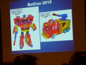 hasbro panel botcon ALL ITEM052