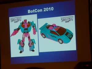 hasbro panel botcon ALL ITEM053
