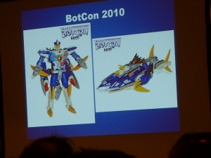 hasbro panel botcon ALL ITEM054