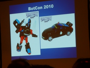 hasbro panel botcon ALL ITEM055