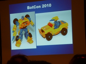 hasbro panel botcon ALL ITEM056