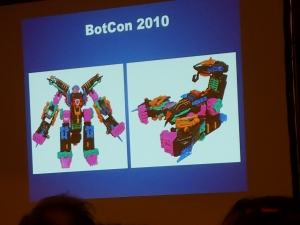 hasbro panel botcon ALL ITEM060