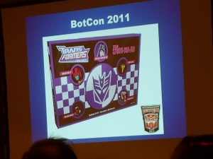 hasbro panel botcon ALL ITEM061