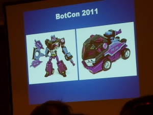 hasbro panel botcon ALL ITEM063