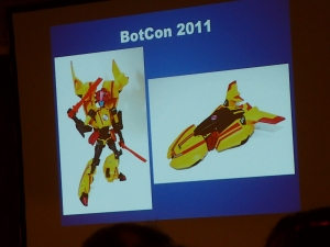 hasbro panel botcon ALL ITEM065