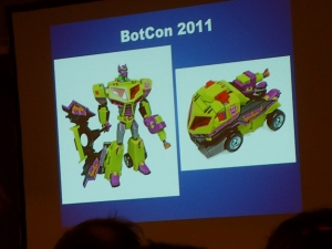 hasbro panel botcon ALL ITEM067