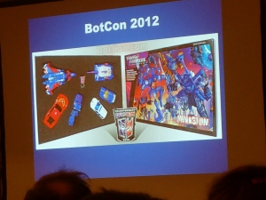 hasbro panel botcon ALL ITEM071
