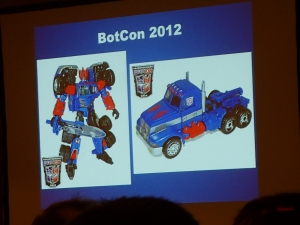 hasbro panel botcon ALL ITEM072