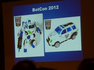 hasbro panel botcon ALL ITEM074