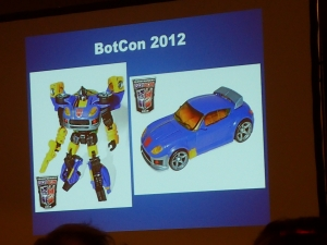 hasbro panel botcon ALL ITEM075