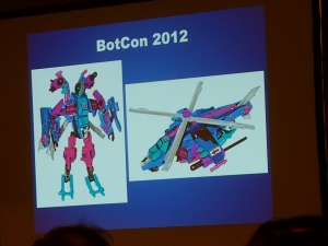 hasbro panel botcon ALL ITEM078