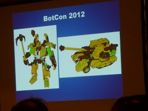 hasbro panel botcon ALL ITEM079
