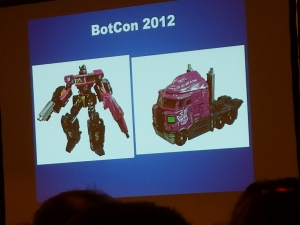 hasbro panel botcon ALL ITEM081