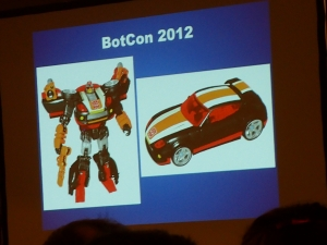 hasbro panel botcon ALL ITEM082