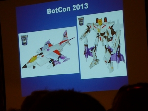 hasbro panel botcon ALL ITEM085
