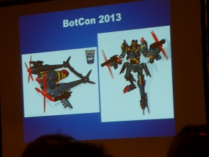 hasbro panel botcon ALL ITEM087